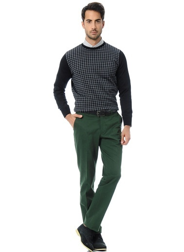 Daffari Pantolon Yeşil